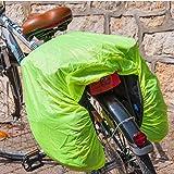 MidGard Fahrrad Regen Schutz Regenhülle Haube für Koffer Tasche Gepäckträgertasche Nylon