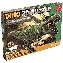 DINO 3D Tyrannosaurus Rex Model Puzzle by Jumbo