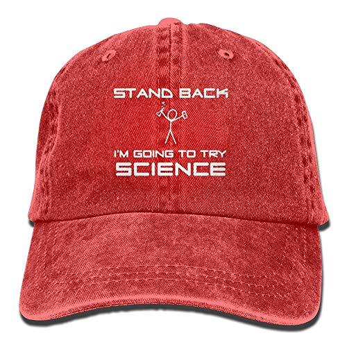 050fd64f6fc IconSymbol Cool Funny Chemistry Joke Vintage Adjustable Cowboy cap Baseball  cap for Man And Woman