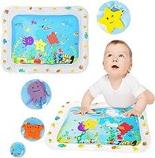 Profer Kinder WasserspielMatte, aufblasbare Wasserspiel Matte für Kinder und Säuglinge, Spaß bunt, Spiel Mat Kleinkind