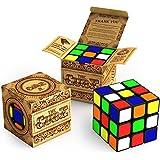 Zauberwürfel - The Cube: Dreht sich schneller und präziser als der Original-Rubik. Super-robust mit lebendigen Farben. Bestseller unter den 3x3x3 Rubix Speed-Cubes. 100%-ige Geld-zurück-Garantie!