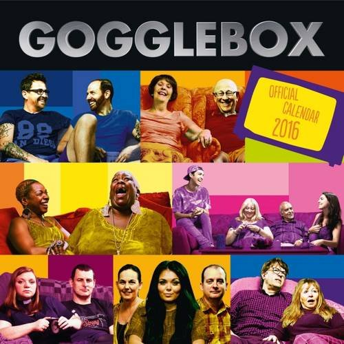 The Official Gogglebox 2016 Square Calendar