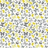 Pingianer 8,98€/m Schmetterling 100% Baumwolle 50x160cm