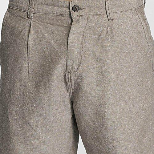 JACK & JONES Herren Jjilinen Chino Akm Shorts Drop Solid Braun