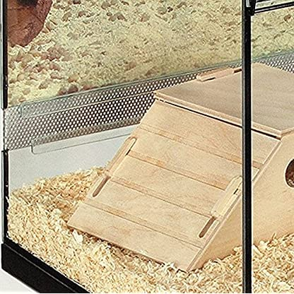 Skyline Small Terrarium Pet Cage - Perfect for Small Animals which like to Burrow - Includes Wooden Accessories and… 3