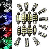 LED-Mafia® - 12 LED - Innenraumbeleuchtung Set - weiß - 1.1042KV (weiß premium)