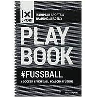 1x1SPORT Playbook #Fussball | Spielfeldvorlagen & Trainingshilfen für Fußballtrainer