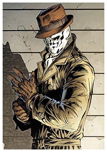 (Poster Watchmen (A) Rorschach - A3 (42x30 cm))