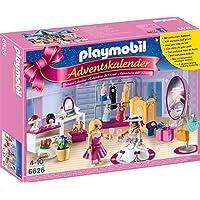 PLAYMOBIL 6626 - Adventskalender - Ankleidespaß für die große Party + PLAYMOBIL 6624 - Adventskalender - Weihnacht auf dem Bauernhof
