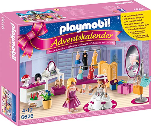 Playmobil 6626 - Adventskalender Ankleidespaß für die große Party (Playmobil-action-figuren)