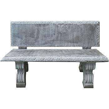 Panchine Da Giardino In Cemento.Artistica Granillo Panchina In Cemento Con Inerti A Vista 175x70 H72