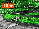 10 mètres - plastique souple  bordures de pelouse  avec 60 Sécurisation  Ancre  compris- Flexible Bordure de jardin, Bordure de pelouse flexible,  Plastique Bordure de jardin,  Flexible Garden Lawn,  Idées de jardin,  Jardin Conception. (10 mètres, Noir)