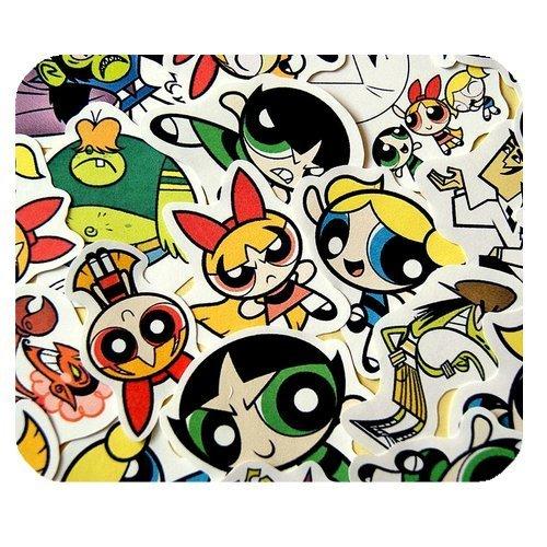 Personalized Rectangle Non-Slip Rubber Mousepad Gaming Mouse Pad / Mat- Cartoon The Powerpuff Girls (Diy Girls Powerpuff)