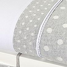 Bolín Bolón 1953243019500 - Textil para minicuna, color gris