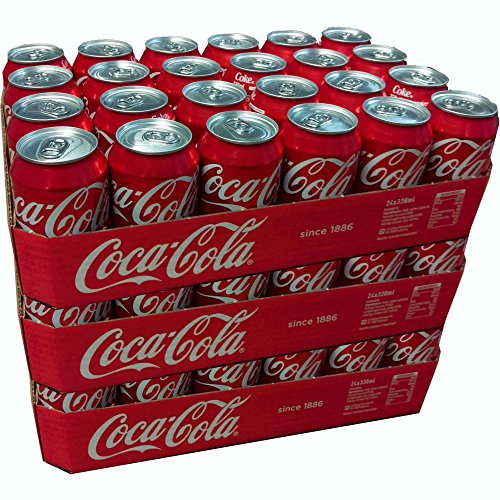 Coca-Cola - 72 x 330 ml (72 Dosen)