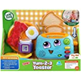 LeapFrog Yum-2-3 Toaster, Learning Toy with Sounds and Colours for Sensory Play, Educational Toys for Kids, Preschool…