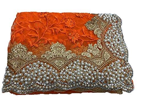 Muktai_Nylon net_embroidery work