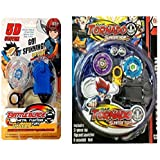 Shop & Shoppee Combo Of Clash Tornado Flash Top And Fighting Fury Beyblade (Multicolor)