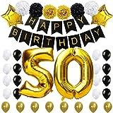 KUNGYO #50 Decoración para Fiestas de Cumpleaños- Happy Birthday...