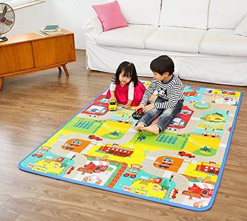 LWVAX Multi-function Floor Mat For Kid's , Baby , Men , Women All (Size :- 90*120)