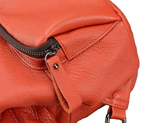 Cczimo ,  Mädchen Damen Rucksackhandtaschen schwarz