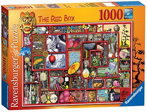 Preisvergleich Produktbild Colin Thompson - Die Red Box 1000 pc Puzzle