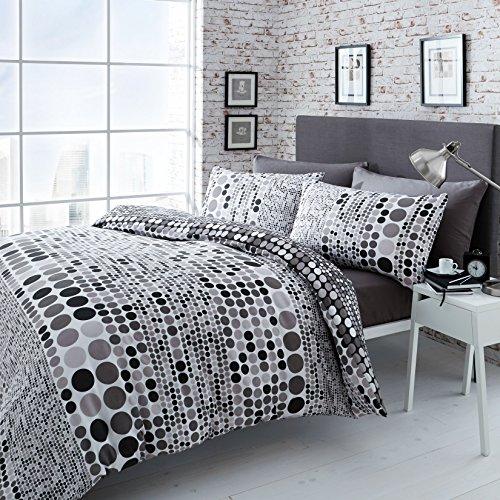 Geo Spot Catherine Lansfield-Set coordinato copri-piumino e federe, per letto