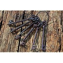 Chiave Anello Porta chiavi in Antico Ruggine