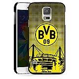 DeinDesign Samsung Galaxy S5 Neo Hülle Case Handyhülle BVB Muster Borussia Dortmund