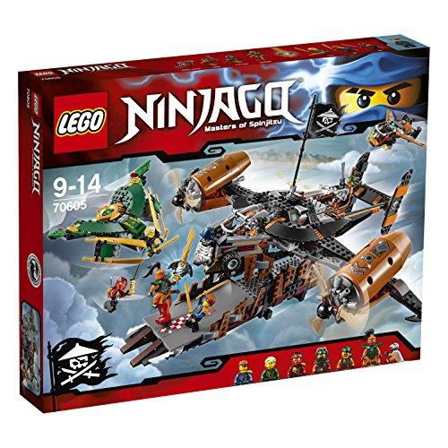 Preisvergleich Produktbild LEGO NINJAGO 70605 - Luftschiff des Unglücks