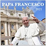 Grupo Erik CP21063 - Calendario de pared 2021 Papa Francisco, 30x30 cm