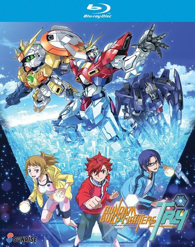 GUNDAM BUILD FIGHTERS: TRY - COMPLETE COLLECTION - GUNDAM BUILD FIGHTERS: TRY - COMPLETE COLLECTION (3 Blu-ray)