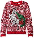 Einhorn Weihnachtspullover Unicorn Sweater