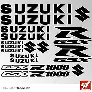 Aufkleber Suzuki GSX 1000–Schwarz–GSXR, GSX R, Sticker, selbstklebend, Aufkleber, gt-design