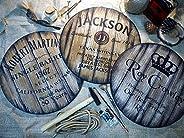 Insegne Decorative Personalizzate, 3 Diversi Stili di Whisky di Vino e Botti di Birra tra cui Scegliere, Regal