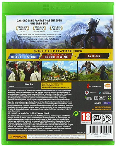 The Witcher 3: Wild Hunt – Game of the Year Edition - 2
