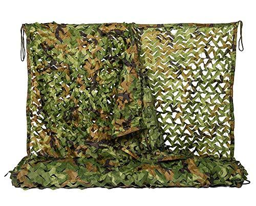 Tarnung Net Woodlands Blätter Camo Cover Für Die Jagd Camping,A-6M×6M ()