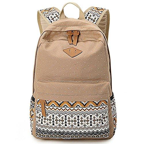 School Bags Girls Backpacks Floral Rucksacks in Fashion Style