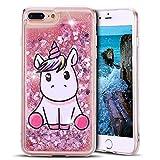 Anfire Coque iPhone 7 Plus, Coque Antichoc iPhone 8 Plus Silicone, Transparent Bling...