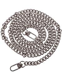 Tradico® 5 X 2cm DIY Purse Handbag Shoulder Bag Replacement Chain Straps Handle Silver