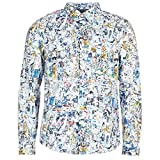 Desigual Mens Gerard Multicolor Langärmelige Hemden L