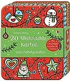 20 Weihnachtskarten zum Selbstgestalten