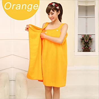 8bd03fb0ed Home & Kitchen Women Bathrobe Wrap Set Ladies Bath Towel Girl Sleeveless  Microfiber Beach Terry Large ...