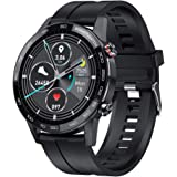 2020 Health Smart Watch L16 IP68 1.3inch 360*360 Bluetooth Music Control Fit Tech Watch With Blood Pressure Heart Rate Fittne