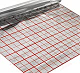 Riscaldamento a pavimento riscaldamento base fondo isolante glacette pellicola Iso, 50qm