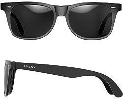 LUENX Men Sunglasses Polarised Lens - UV 400 Protection 54MM with Accessories