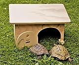 Maison refuge pour tortues sans fond de terre Blitzen Made in Italy 100 %