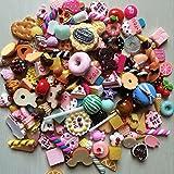 ZOOOAH 10 Stücke Miniature Pretend Spielzeug Essen Küche Keks Donuts Für Barbie Handy-Dekoration