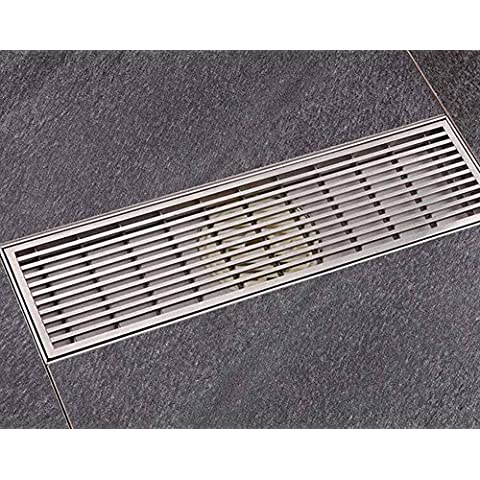 NHD-Fashion sophisticated brushed stainless steel floor drains,