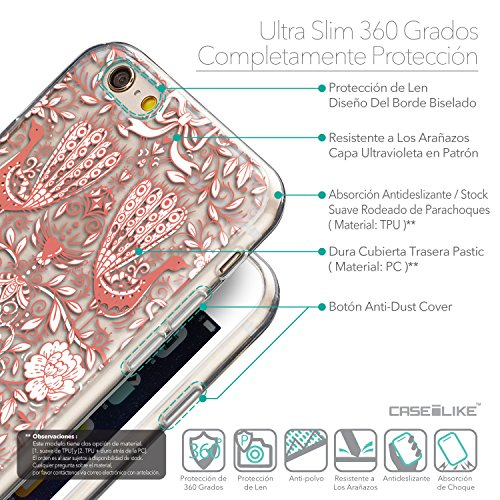 CASEiLIKE Wandschmierereien 2703 Ultra Slim Back Hart Plastik Stoßstange Hülle Cover for Apple iPhone 6 / 6S (4.7 inch) +Folie Displayschutzfolie +Eingabestift Touchstift (Zufällige Farbe) 2237